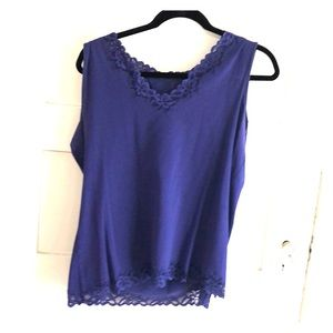 Coldwater Creek purple tank top